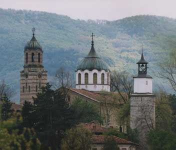 "The Clock Tower, the ""Holy Assumption Church,"" and the Bell Tower"
